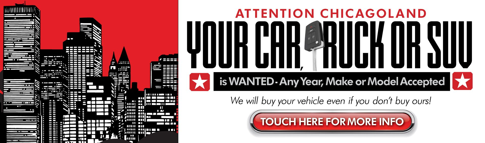 We Want Your Car Chicagoland