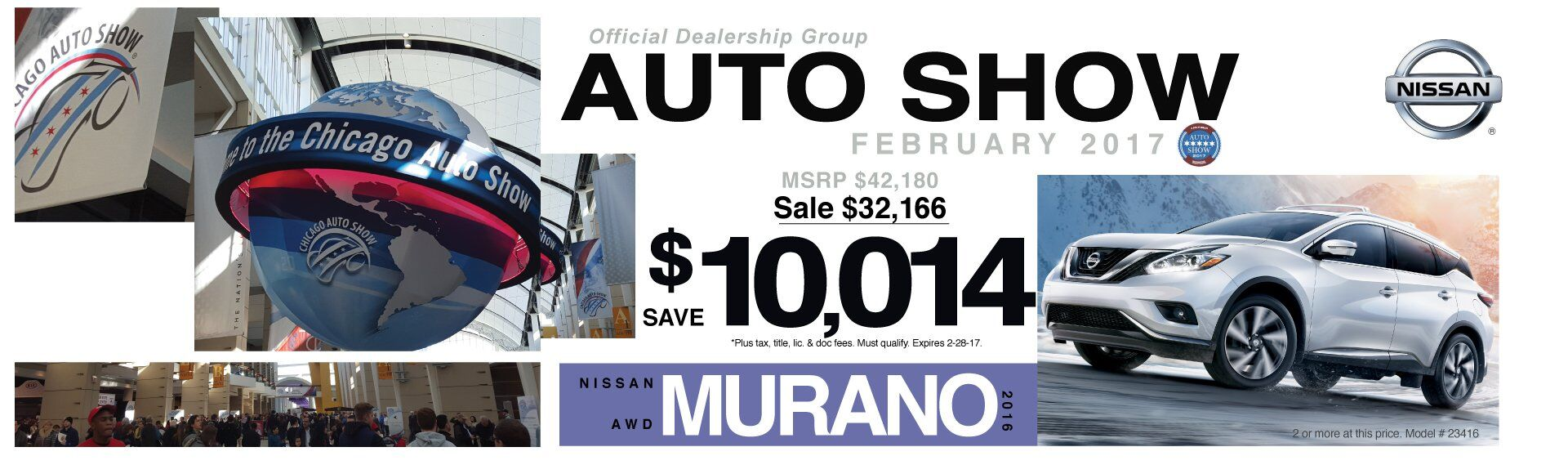 Save $10,014 On A New 2016 Nissan Murano