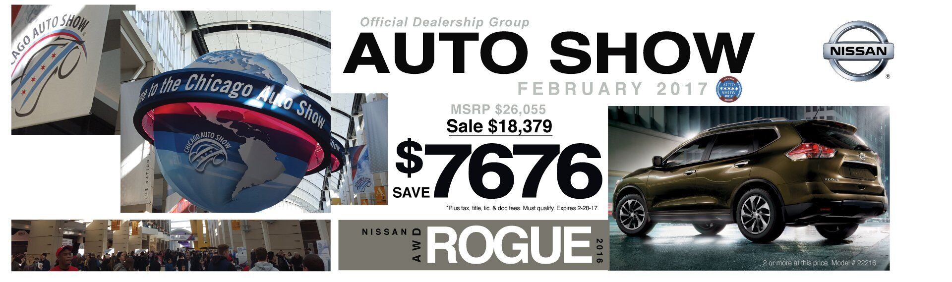 Save $7676 On A New 2016 Nissan Rogue