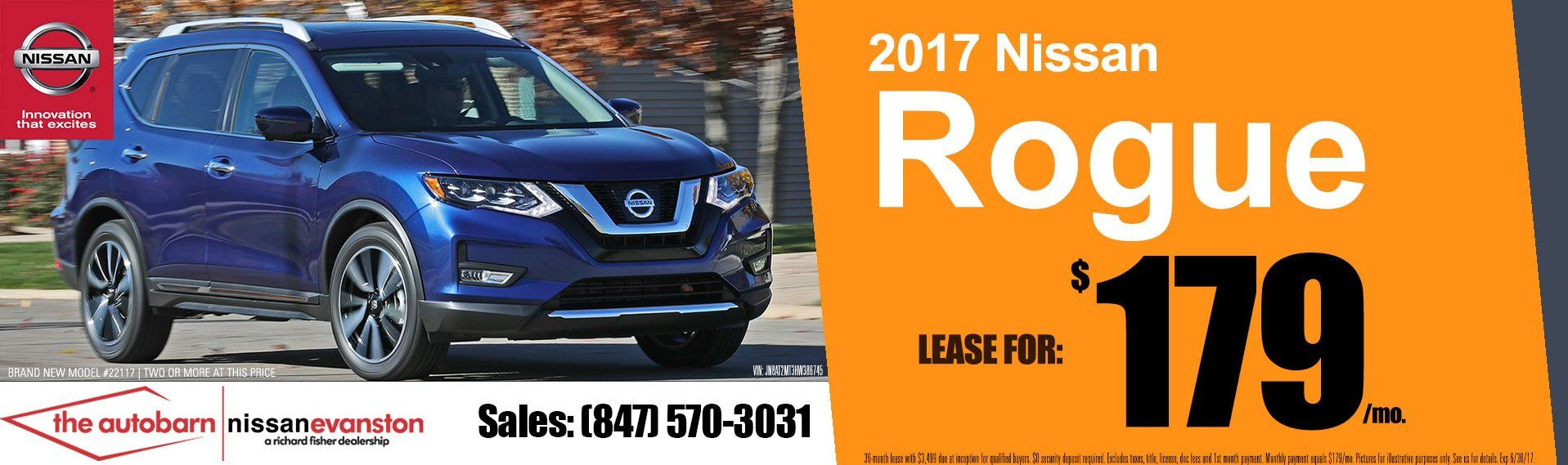 The Autobarn Nissan - Rogue lease 179 mo
