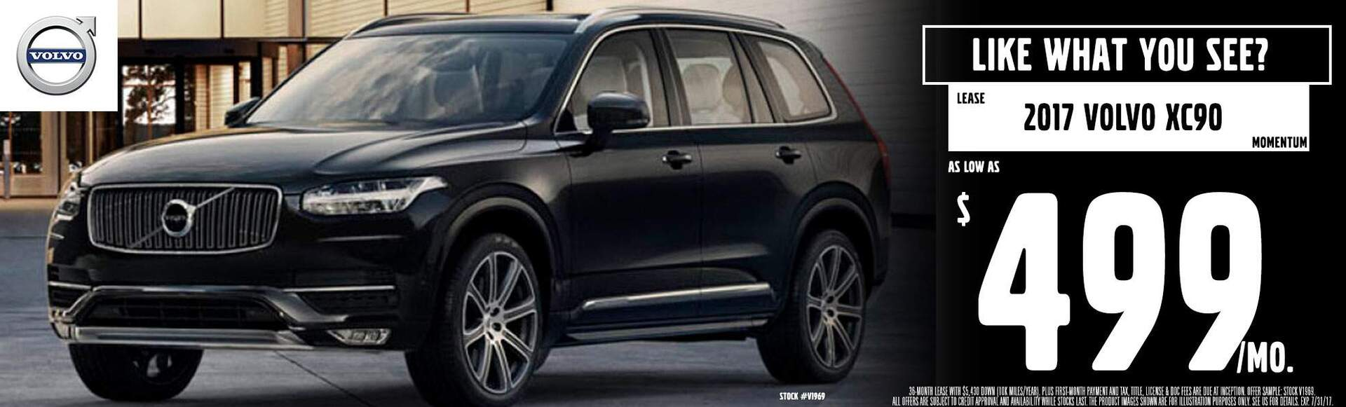 Autobarn Volvo July Lease XC90 for $499mo