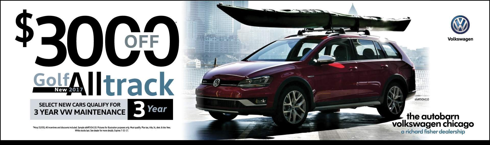 VW City Chicago Jetta Lease July