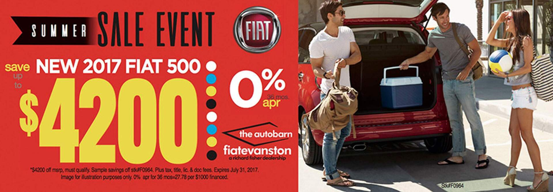 $4,200 OFF on the nEw FiAt 500 At The Autobarn Fiat