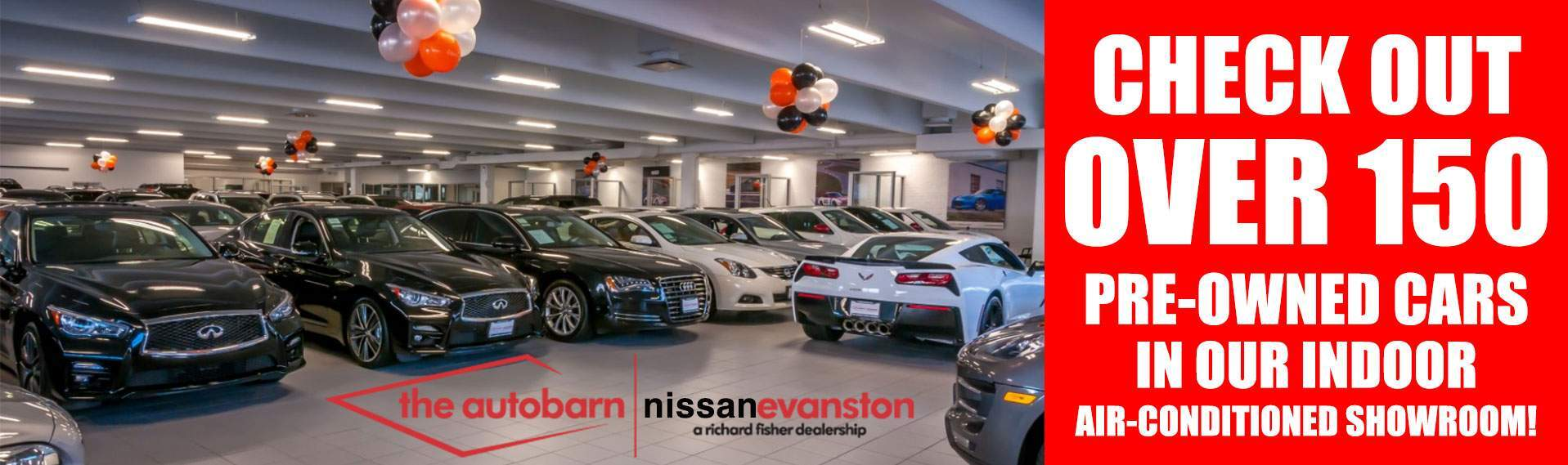 The Autobarn Nissan Evanston Indoor