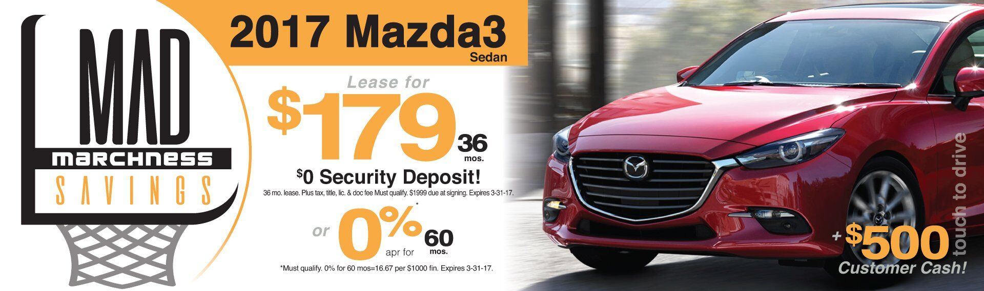 Mad Marchness Mazda3 Specials