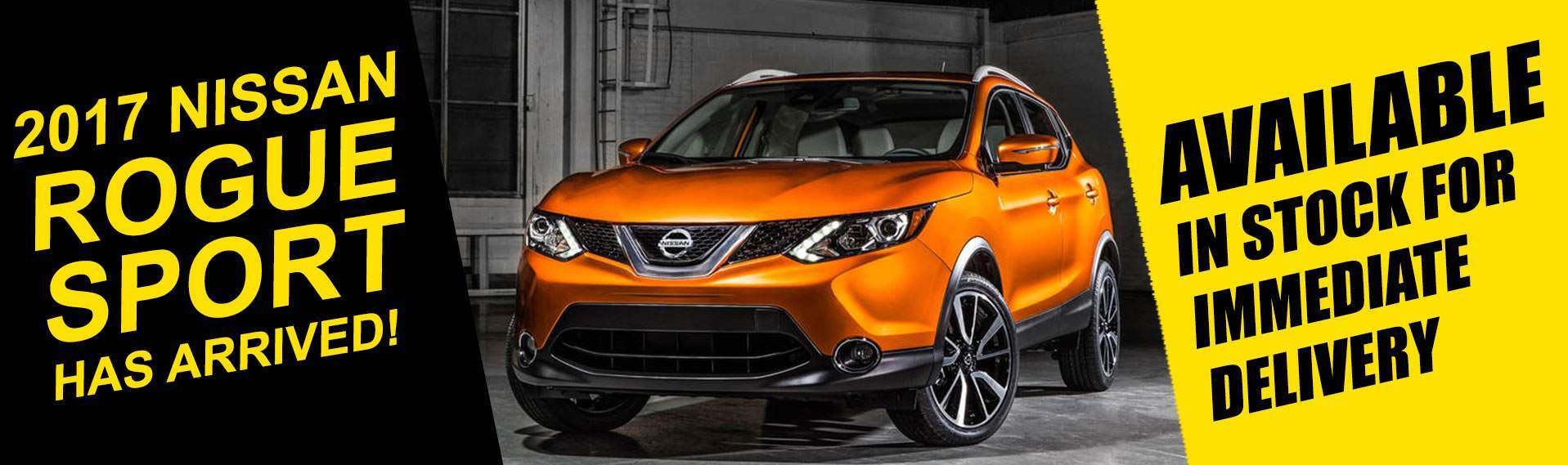 The Autobarn Nissan Rogue Sport banner