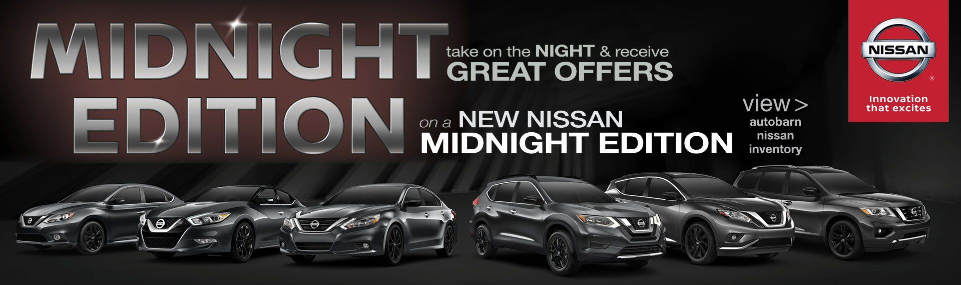 Take On The Night With a Nissan Midnight Edition
