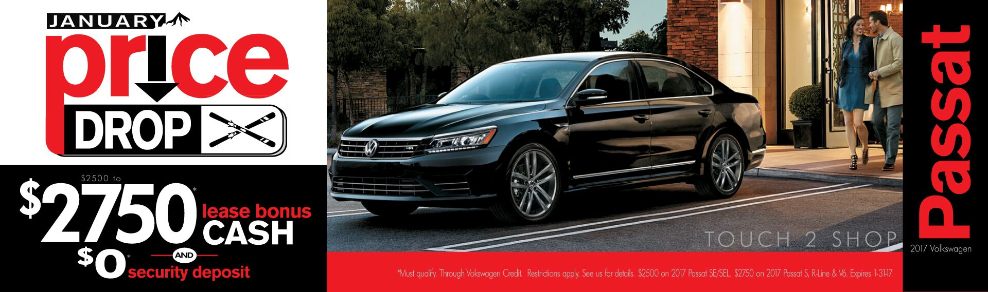 Passat January Price Drop