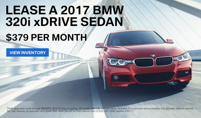 2017 BMW 3Series Offer