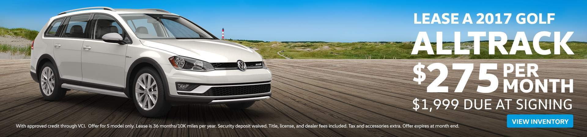 Volkswagen Golf Alltrack Lease