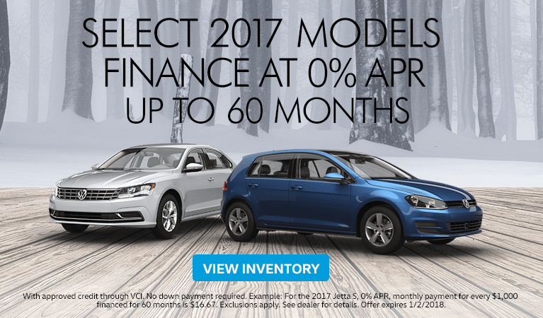 Save on Select Volkswagen Models Lexington Ky