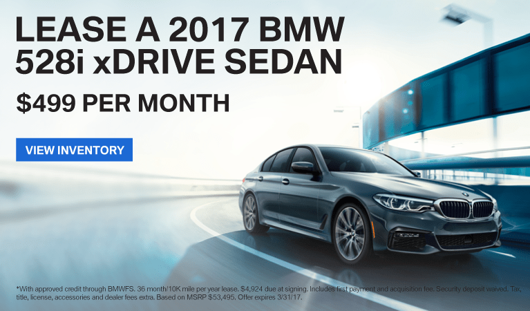 2017 BMW 5 Series Offer