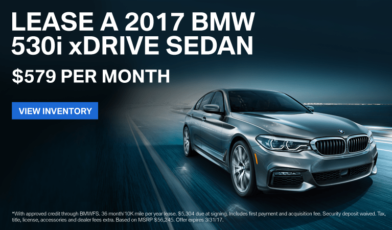 2017 BMW 5Series Offer