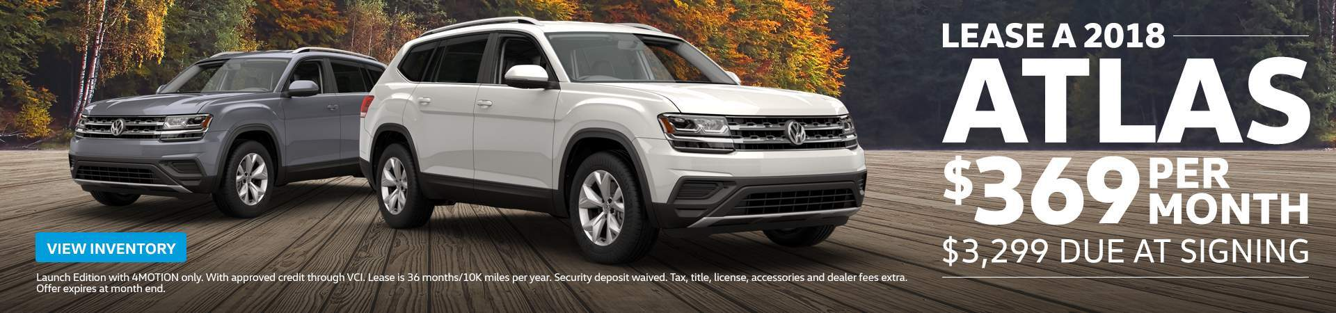 Volkswagen Atlas Lease