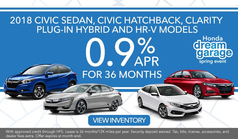 APR Civic Hatchback, Civic Sedan, HR-V and Clarity Hybrid