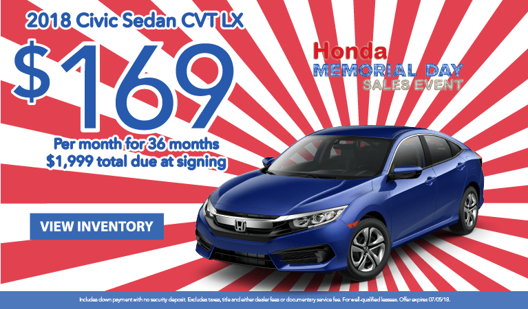 Civic Lease May 2018