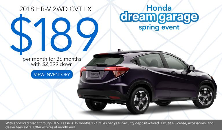 HR-V CVT 2WD Lease