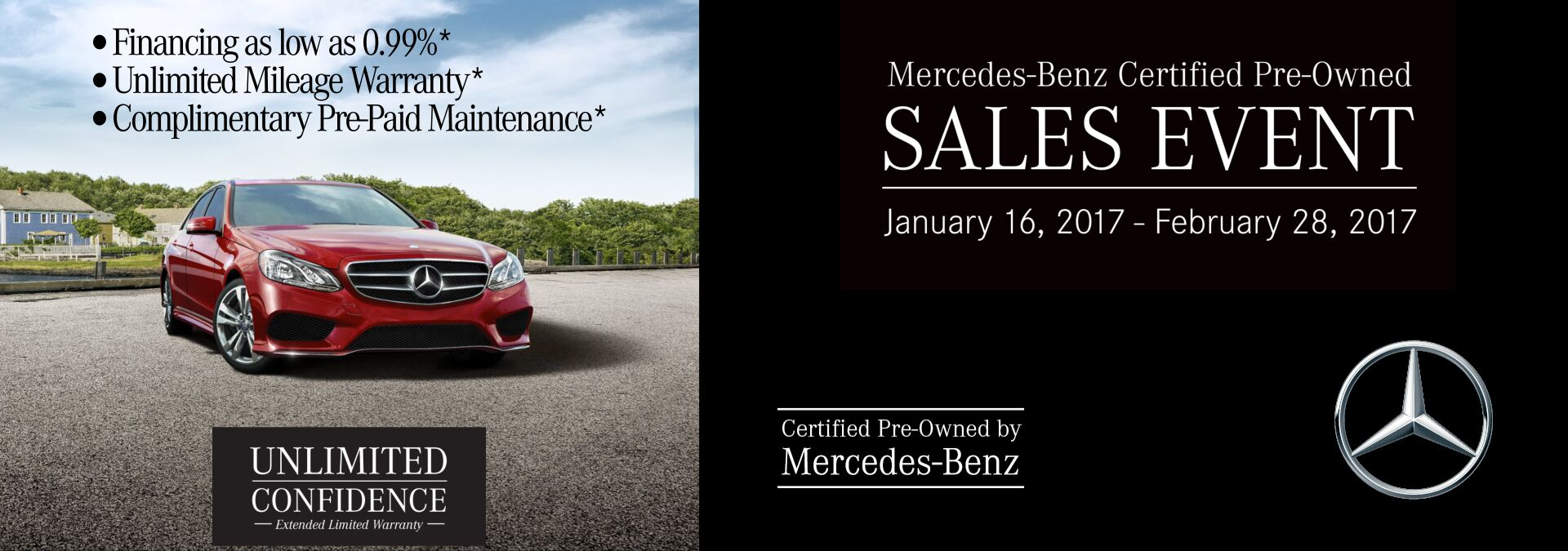 Mercedes-Benz CPO Sales Event