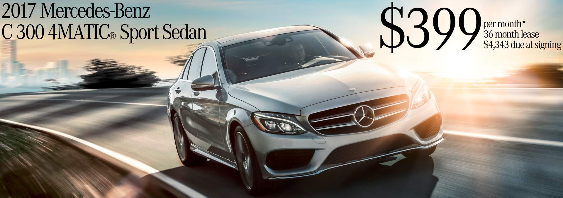 October 2017 C-Class Lease Offer
