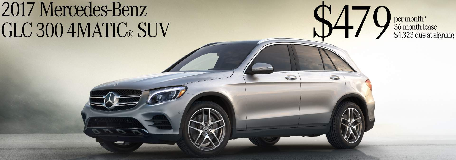 October 2017 GLC 300 Lease Offer