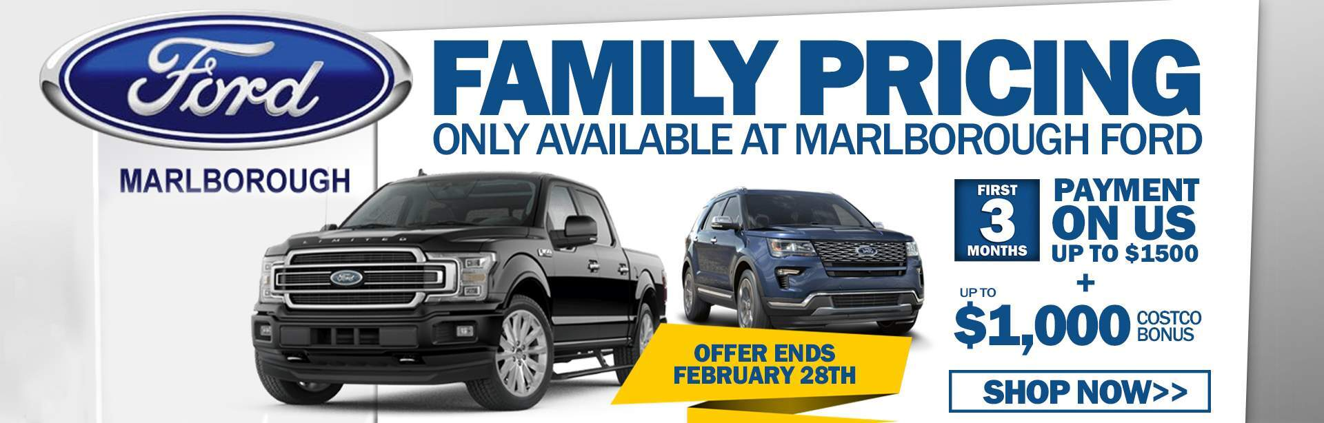 Family Pricing at Marlborough Ford