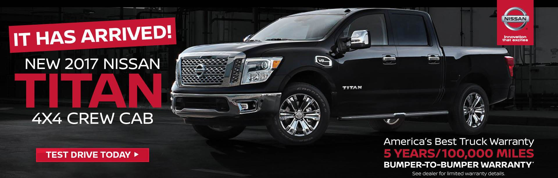 2017 Nissan Titan Arrived