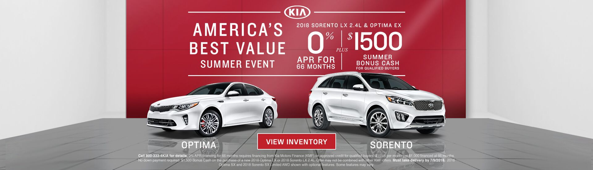 America's Best Value Summer Event at Mike Murphy Kia of Brunswick