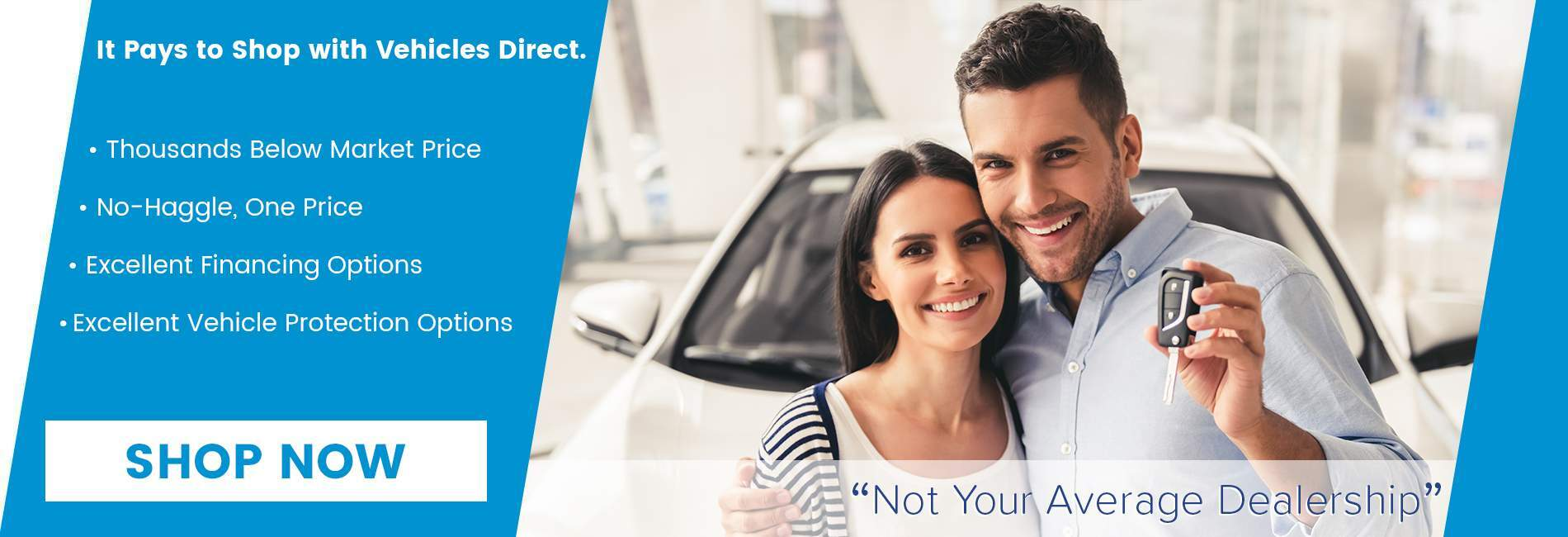 It pays to shop at Vehicles Direct thanks to upfront pricing in North Charleston SC