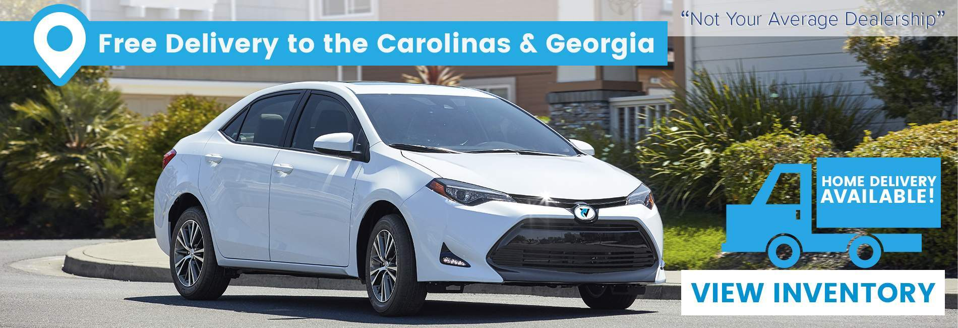 We offer free delivery to the Carolinas and Georgia in North Charleston SC