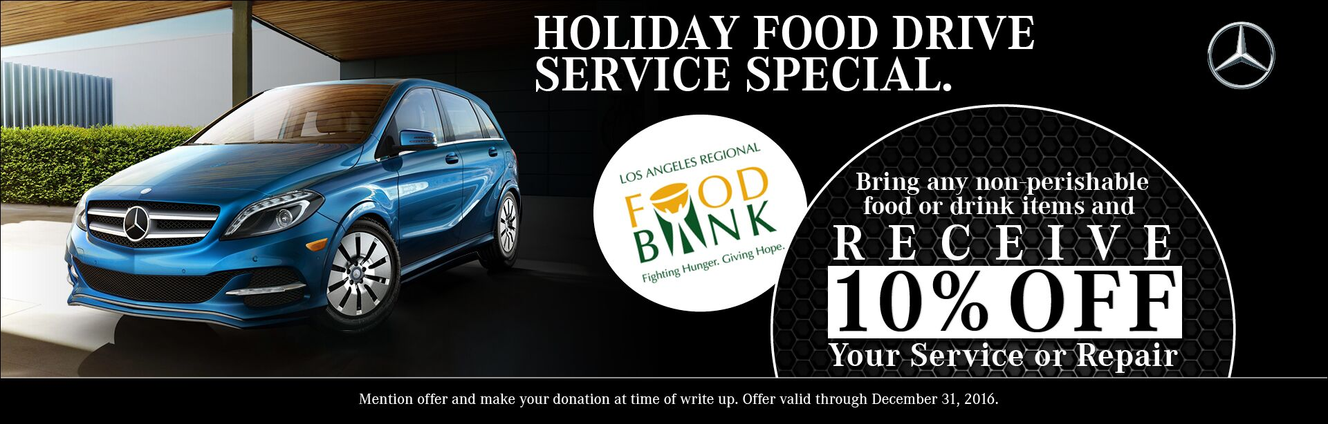 Food Drive Service Special