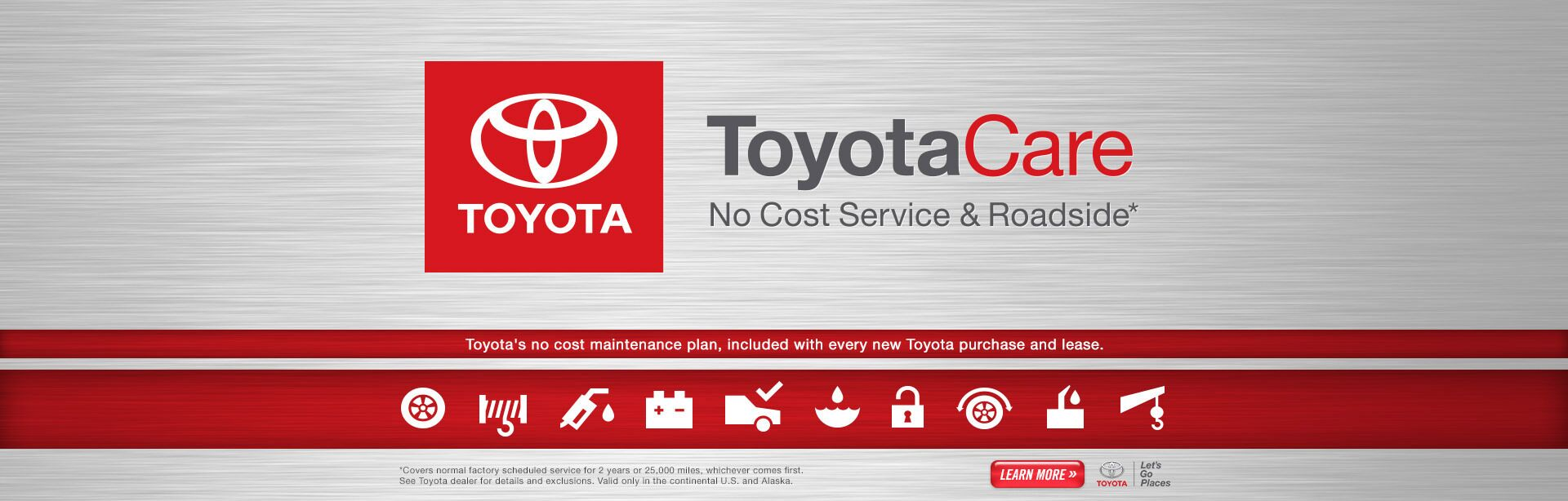 ToyotaCare Maintenance
