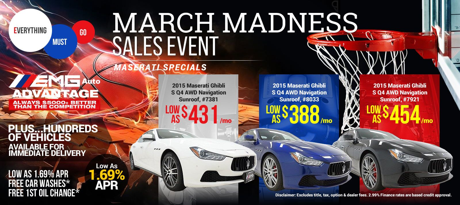 maserati -march madness