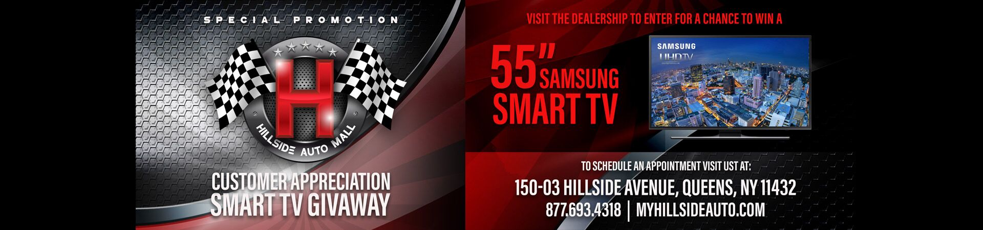 Customer Appreciation Smart TV Giveaway