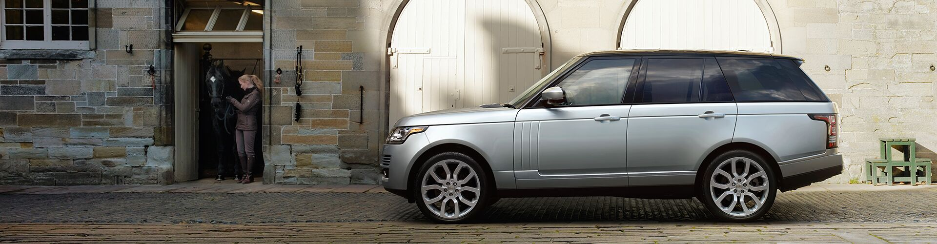 New Range Rover at Land Rover Milford