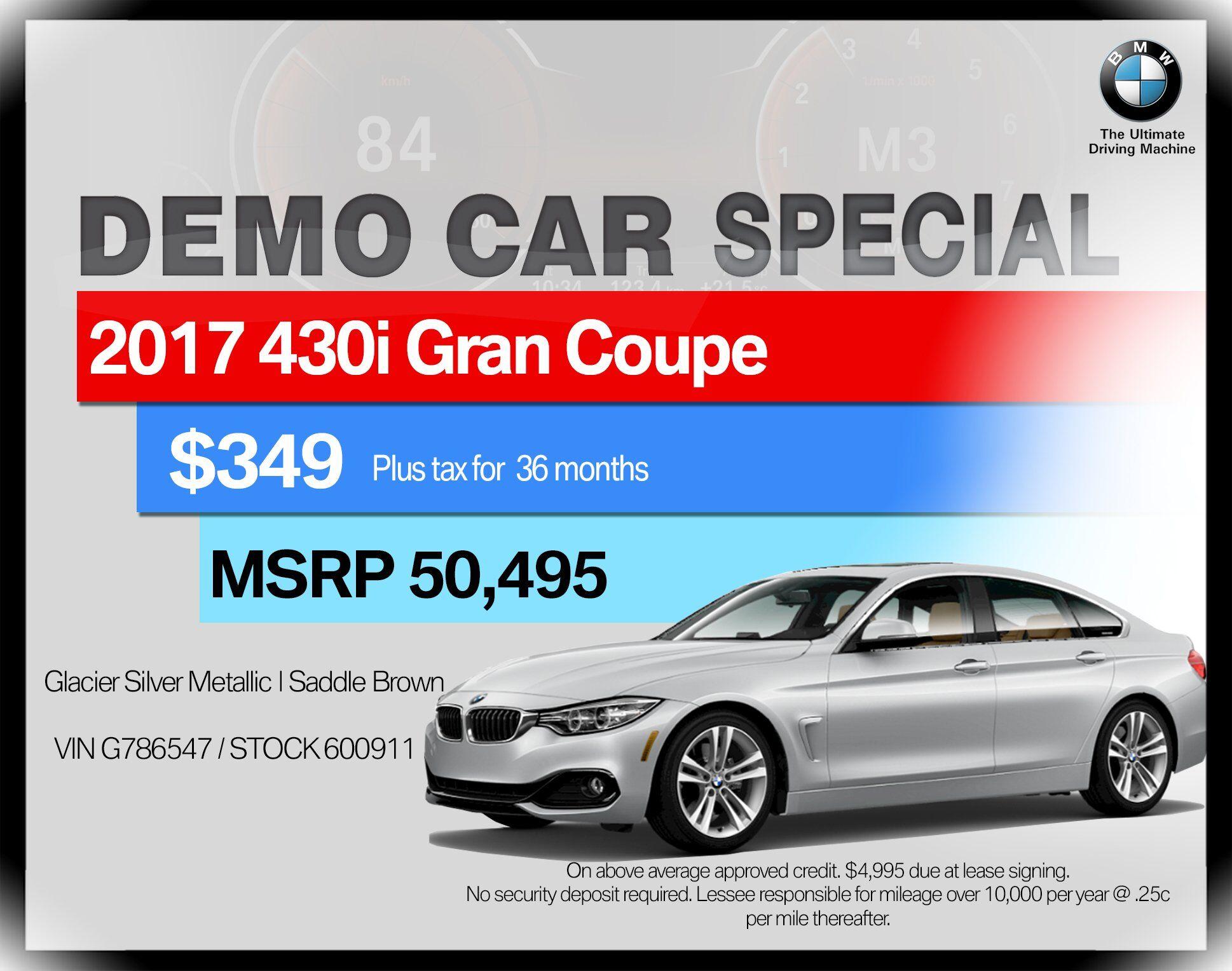 2017 BMW 4 Series 430i