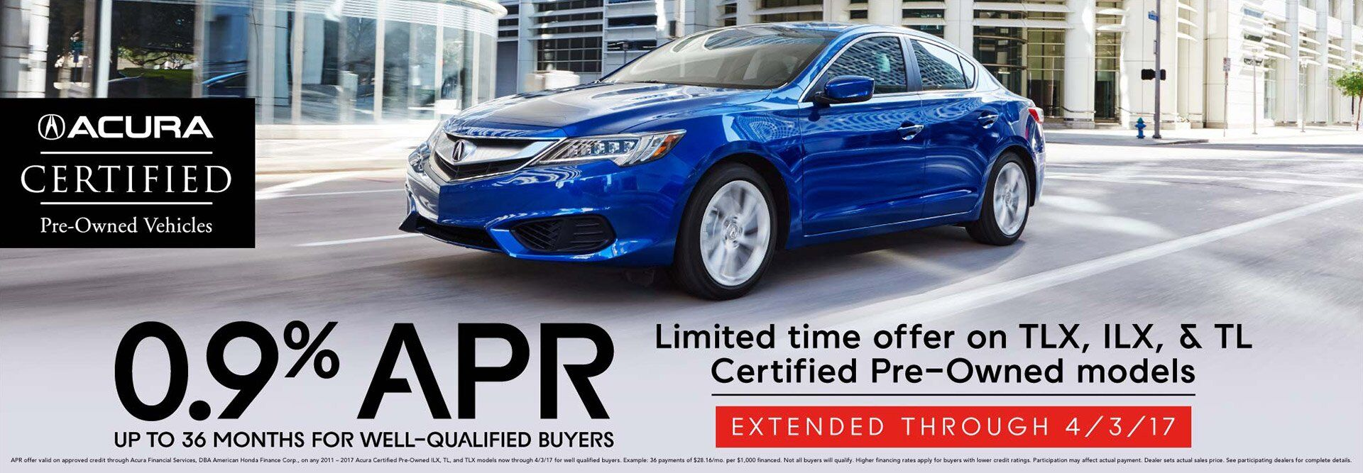 Acura Certified Event