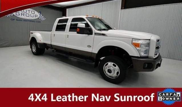 2015 Ford F-350SD King Ranch Lifted