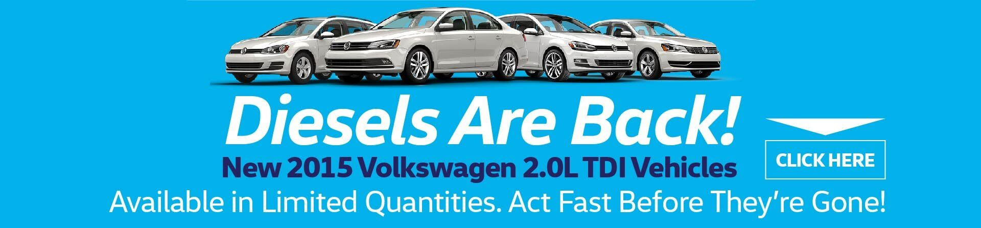 TDI Diesels Are Back