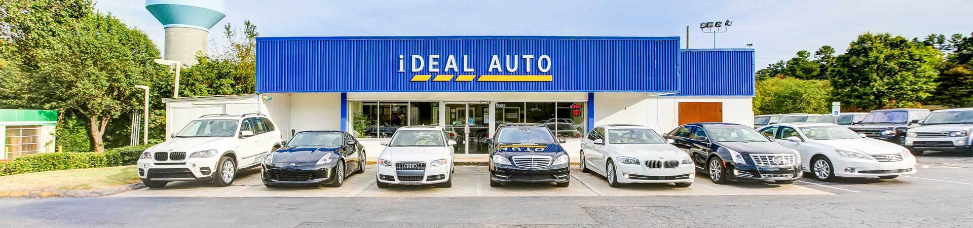 Pre-Owned Car Dealership Raleigh NC   iDeal Auto