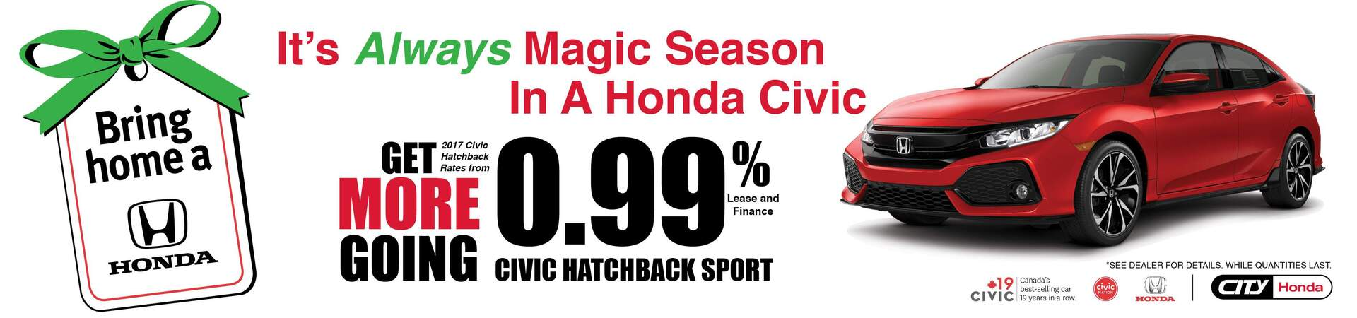 Bring Home A Honda Civic