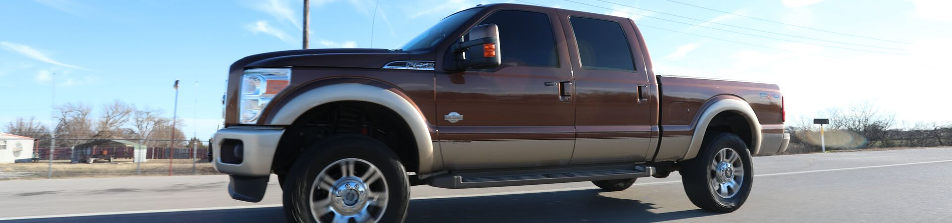 Brown Ford F-250 King Ranch