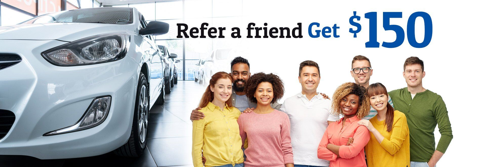 Refer a Friend at Car Credit Center