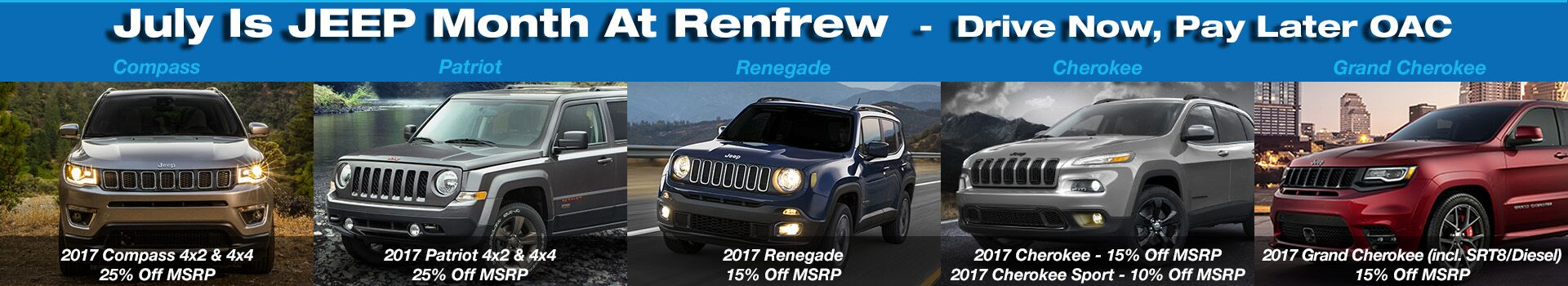 JEEP Month At Renfrew Chrysler