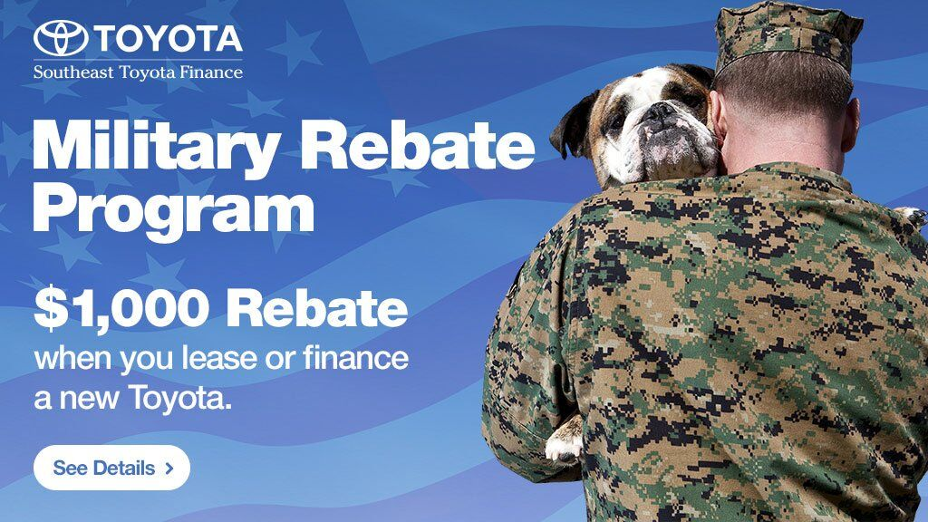 Toyota Military Rebate at Ed Morse Delray Toyota