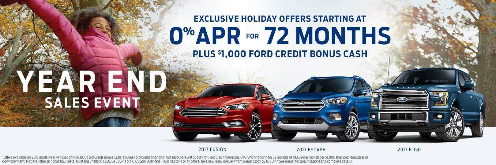 Ford Year End Savings