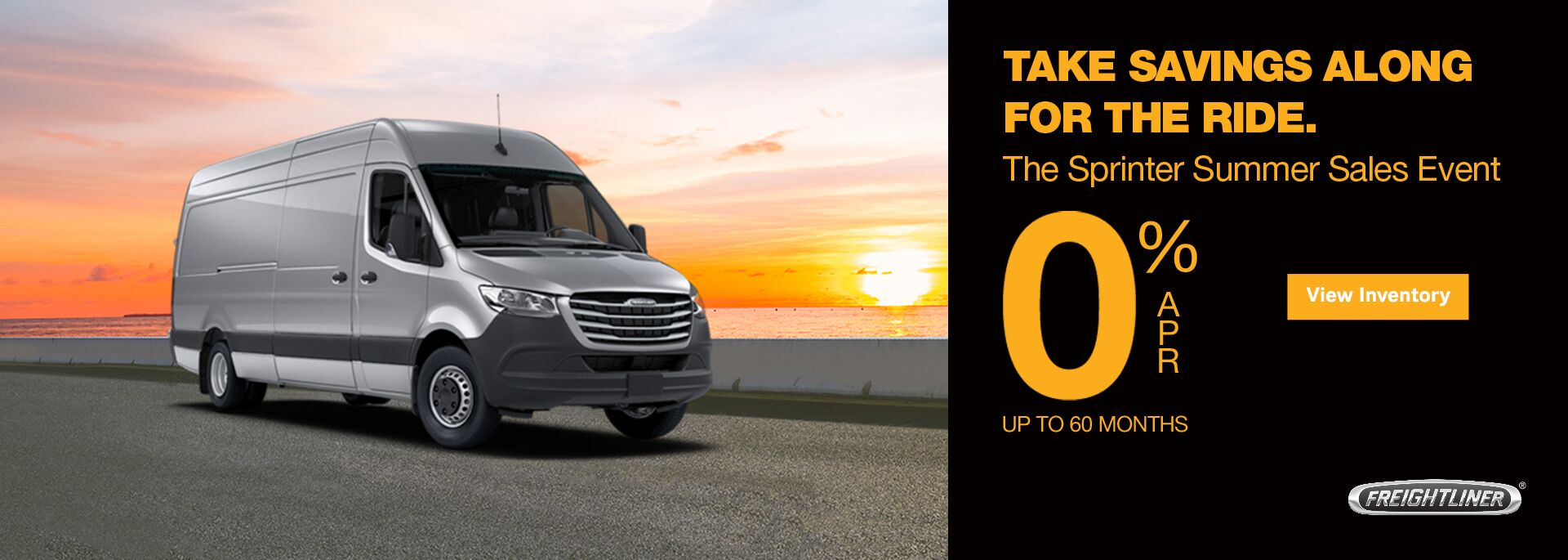 The Sprinter Summer Sales Event