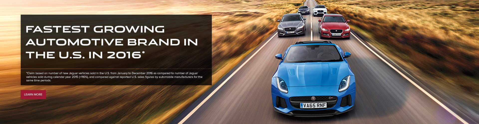 Jaguar Fastest Growing Brand 2016