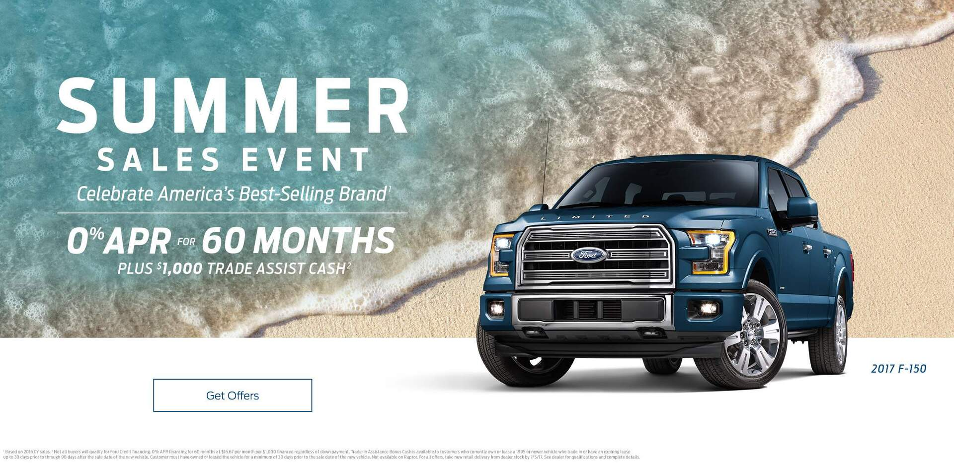 Summer Sales Event F150 0%