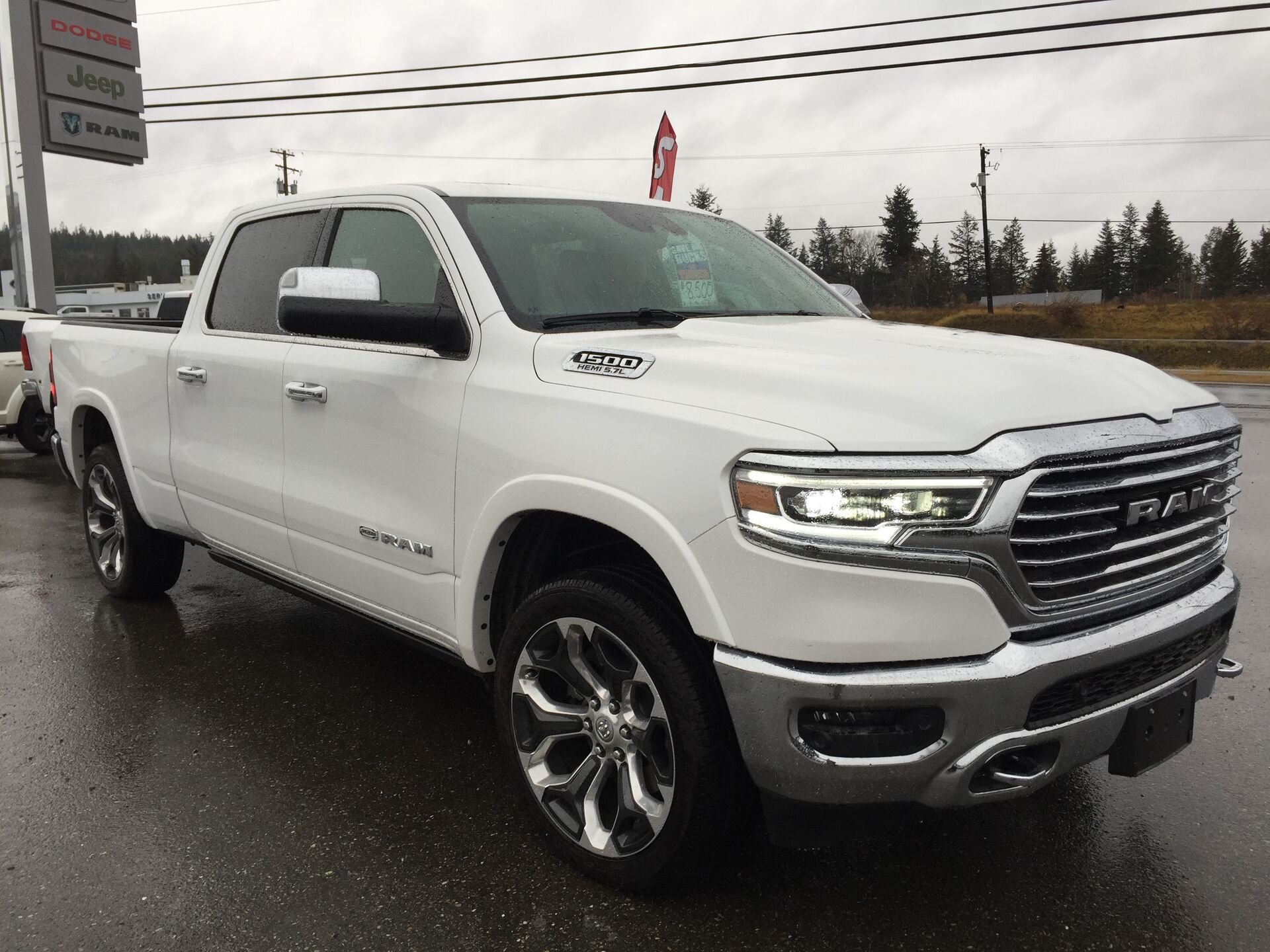 The All New 2019 Ram 1500 Longhorn