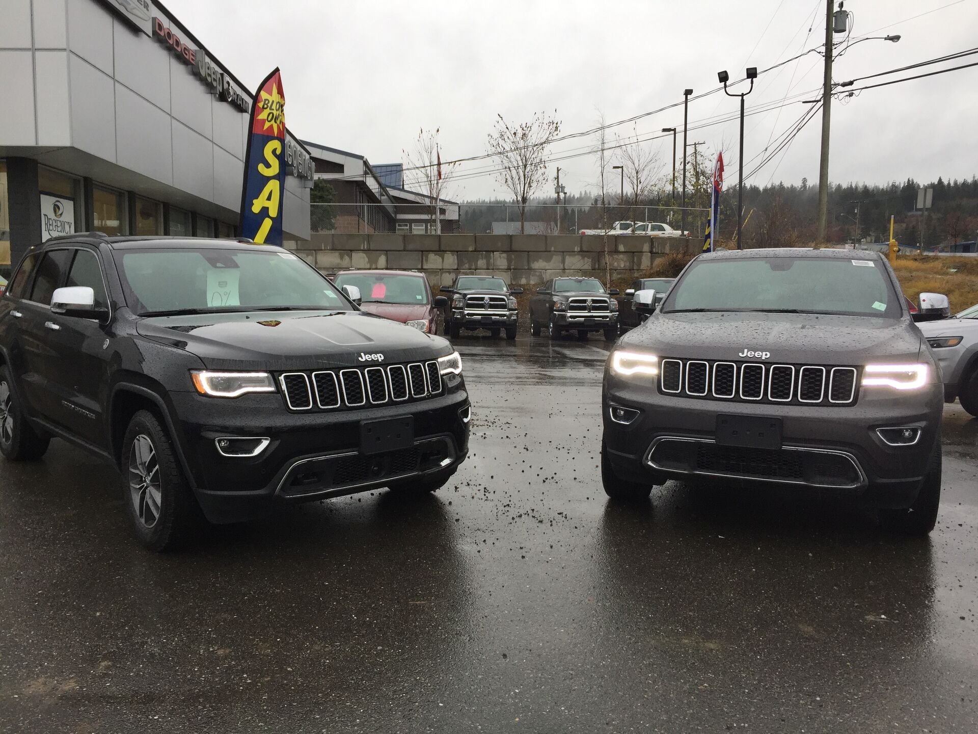 2018 Jeep Grand Cherokees
